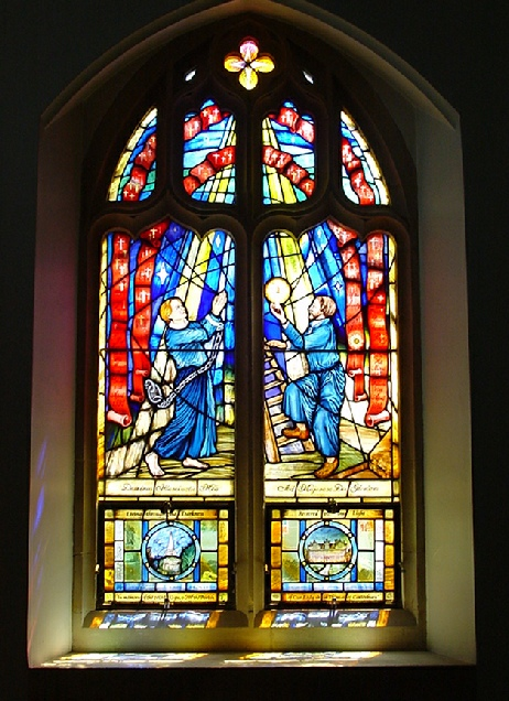 Our Lady and St Thomas of Canterbury Harrow on the Hill Martyrs window