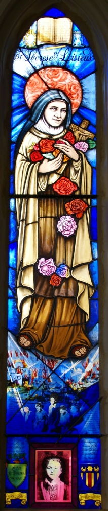 st therese of lisieux window